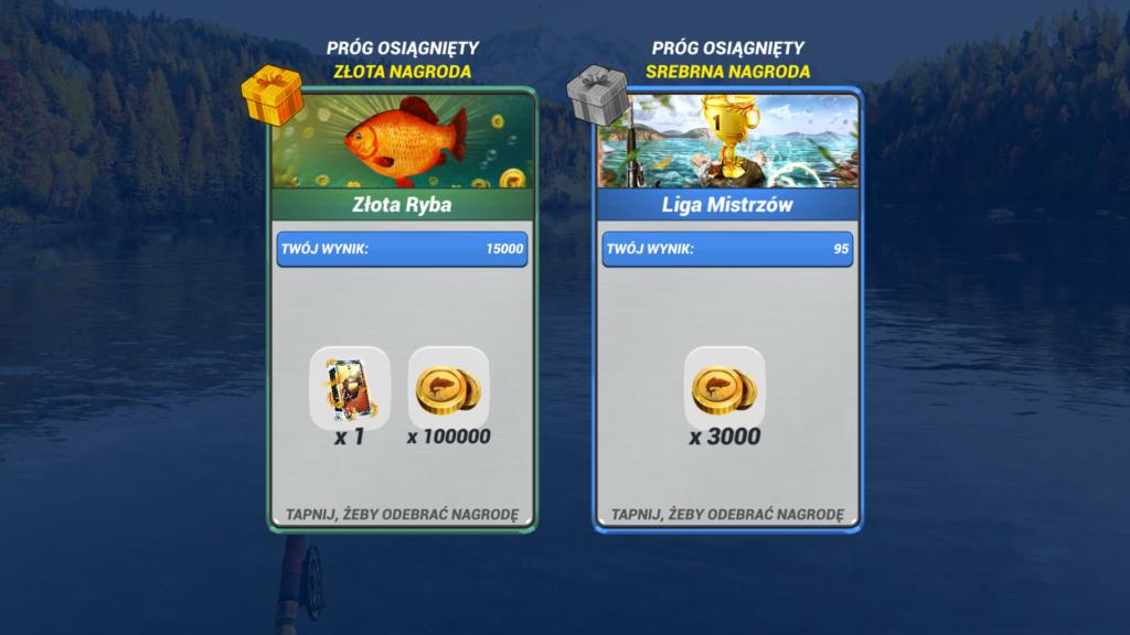 Wygrywanie w Fishing Clash