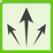 archero diagonal arrows skill