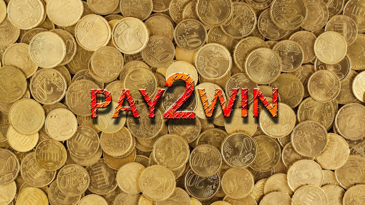Pay 2 win na tle monet